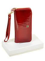 Женский кошелек Lizard кожа-лак BRETTON W38 red, фото 1