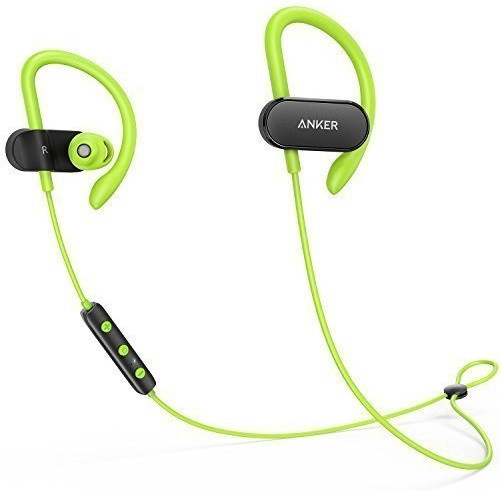 Наушники ANKER SoundBuds Curve Black/Green