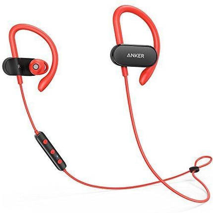 Наушники ANKER SoundBuds Curve Black/Red, фото 2