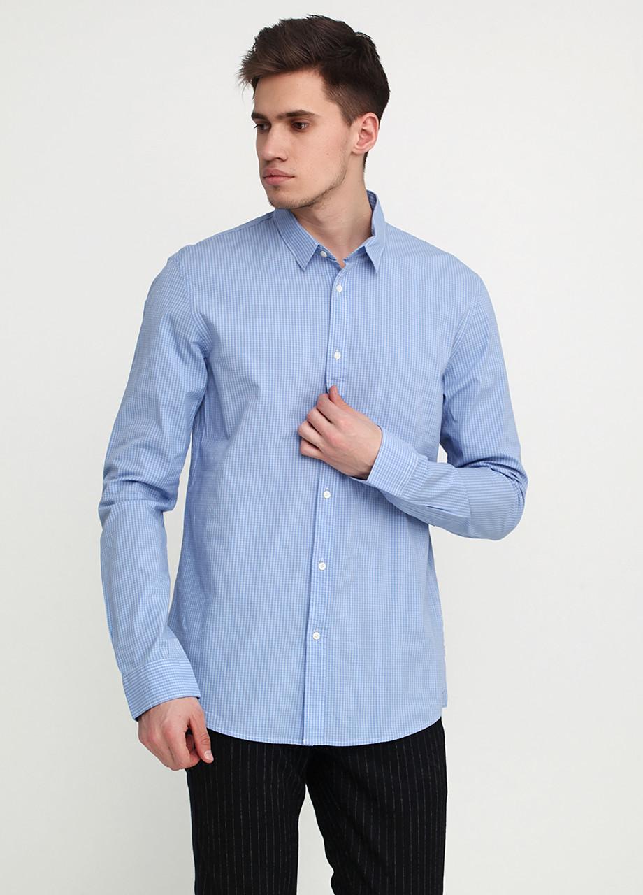 Рубашка мужская Scotch & Soda цвет голубой размер XL арт 101450-16-FWMM-D20
