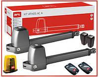 BFT ATHOS AC A25 KIT. Комплект автоматики для распашных ворот. Створка до 2.5м.