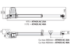 BFT ATHOS AC A25 KIT. Комплект автоматики для распашных ворот. Створка до 2.5м., фото 7