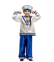 Костюм Моряка для мальчика 4, 5, 6, 7, 8, 9 лет. Детский карнавальный маскарадный