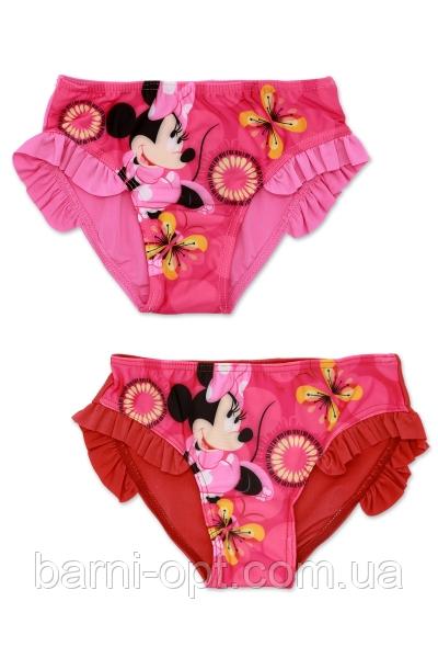 Плавки для девочек,  Disney, оптом, 2-6 рр