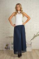 Шифоновая женская юбка макси 301, фото 1