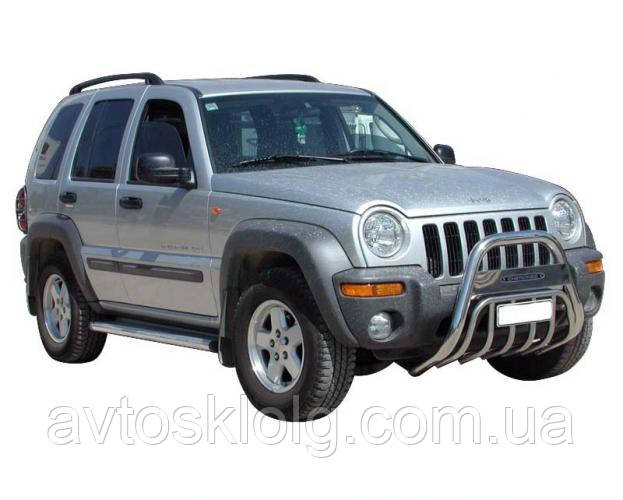 Стекло лобовое, заднее, боковые для Jeep Cherokee/Liberty (Внедорожник) (2002-2007)