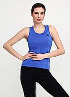 Майка женская Adidas цвет синий размер M арт CF7176