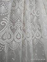 Гардина из льна с вышивкой Высота 2. 8 м, фото 1