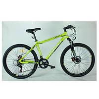 Горный велосипед MTB 24 дюйма PROFI - KID G24A316-1  (салатовый) на алюминиевой раме