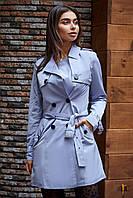 Donna-M Классический модный тренч Р 2076, фото 1
