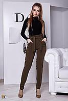 Donna-M Женские брюки с высокой талией Р 2390, фото 1
