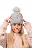 Donna-M Теплая кашемировая шапка 752, фото 1