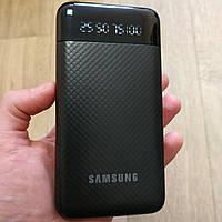 Power Bank Samsung 20000 mAh с фонариком повер банк внешний аккумулятор Самсунг черный, фото 1