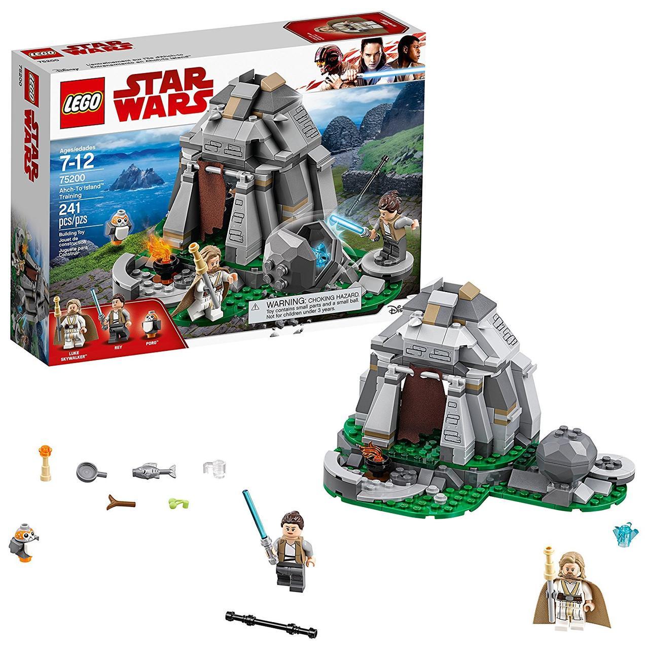 Lego Star wars 75200 Острівне навчання на Ач-Ту (Конструктор Лего Старварс Тренировки на островах Эч-То)