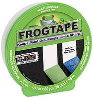 Лента малярная Frogtape, лента для малярных работ  36 мм х 55 м зеленая