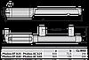 BFT PHOBOS AC A25 KIT. Комплект автоматики для распашных ворот. Створка до 2.5м., фото 2