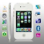 Мобильный телефон iphone i5G - Tv, Fm, 2sim.Качественная  копия iphone(айфон) 5g купить по выгодной цене.