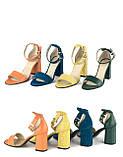 Жіноче взуття з натуральної шкіри. ОПТ., фото 3