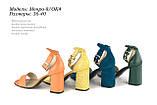 Жіноче взуття з натуральної шкіри. ОПТ., фото 2