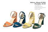 Жіноче взуття з натуральної шкіри. ОПТ., фото 4