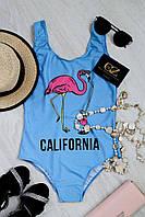 Donna-M Купальник Play (бирюза/розовый фламинго) 13111-015