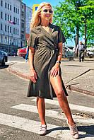 Donna-M Платье Мадлен (оливковый) 12118-178, фото 1