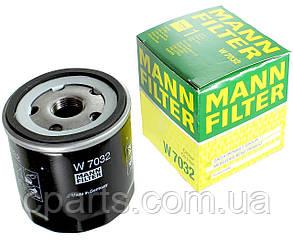 Масляный фильтр Renault Fluence с 2013 года 1.5 DCI (Mann W7032)(высокое качество)