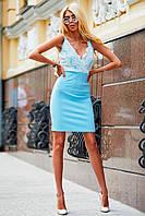Donna-M Платье Бьянка (голубой) 12443-0004, фото 1