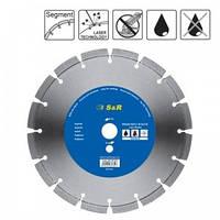 Алмазный диск S&R 242423350, 350 мм, по бетону, Supreme