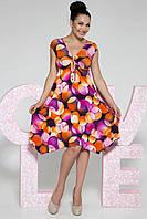 Donna-M Платье Мая (фиолетовые круги) 10343