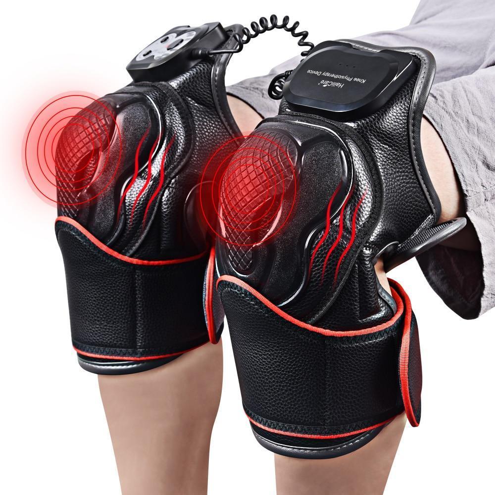 Купить Ортез 2 штуки бандаж коленного сустава магнитно -вибрационные послеоперационные с прогревающим эффектом