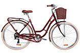 """Жіночий міський велосипед з багажником і кошиком DOROZHNIK CORAL AL VBR 28""""(чорний), фото 3"""