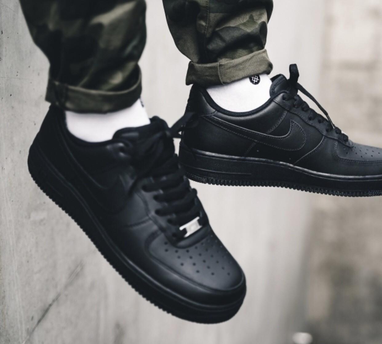 7b5ac10d Кроссовки Nike Air Force 1 07/ Black 0142, цена 3 000 грн., купить в ...