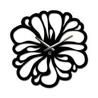 Часы настенные Необычный цветок