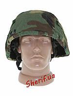 Чехол  для шлема (кавер)FRITZ MIL-TEC PRO США Woodland 16671520