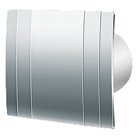 Вентилятор вытяжной Blauberg Quatro Hi-Tech Chrome 100