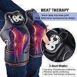 Массажер ортез на  колено, магнитно -вибрационные послеоперационные электрогрелка с прогревающим эффектом, фото 2