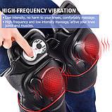 Массажер ортез на  колено, магнитно -вибрационные послеоперационные электрогрелка с прогревающим эффектом, фото 4