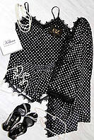 Donna-M Комплект Мисс тройка (черный/белый горох) 13111-360, фото 1