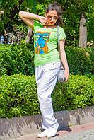 Donna-M Футболка Обезьяна (салатовый) 11152/2159, фото 1