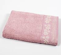 Полотенце махровое Binnur - Vip Cotton 50*90 розовый