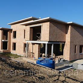 Строительство домов из блоков Heluz