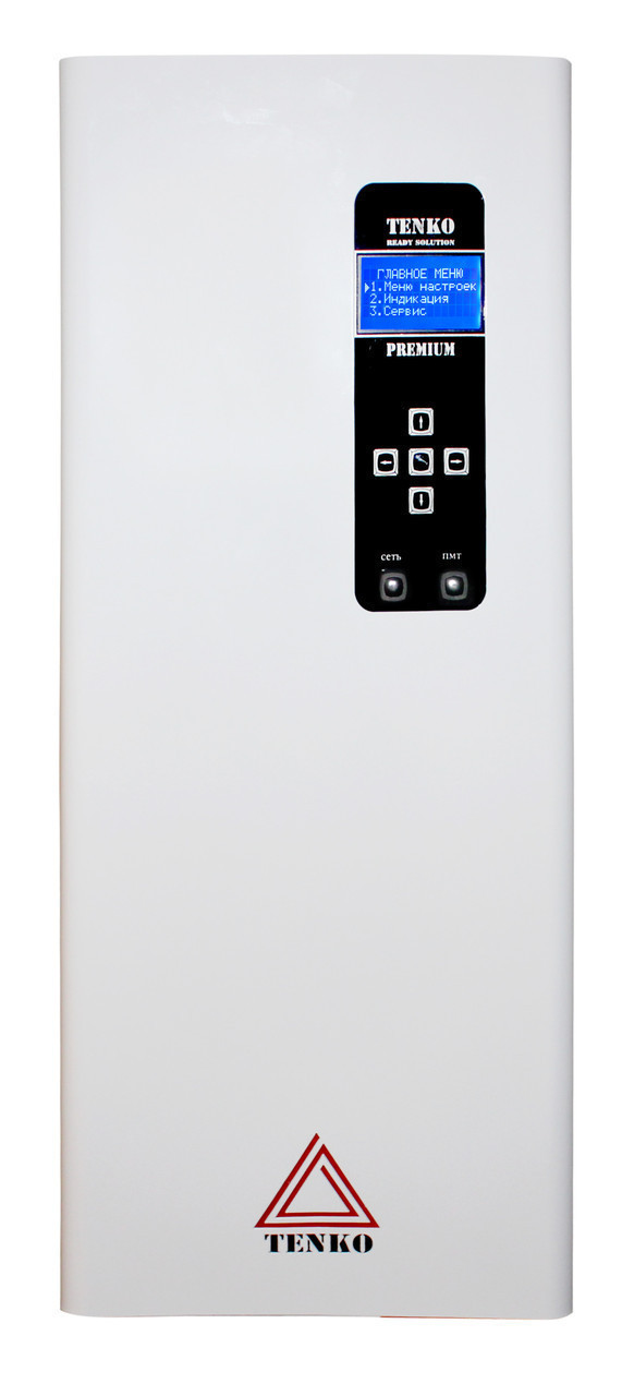 Котел электрический с насосом 9 кВт Tenko Премиум 380 В ПКЕ