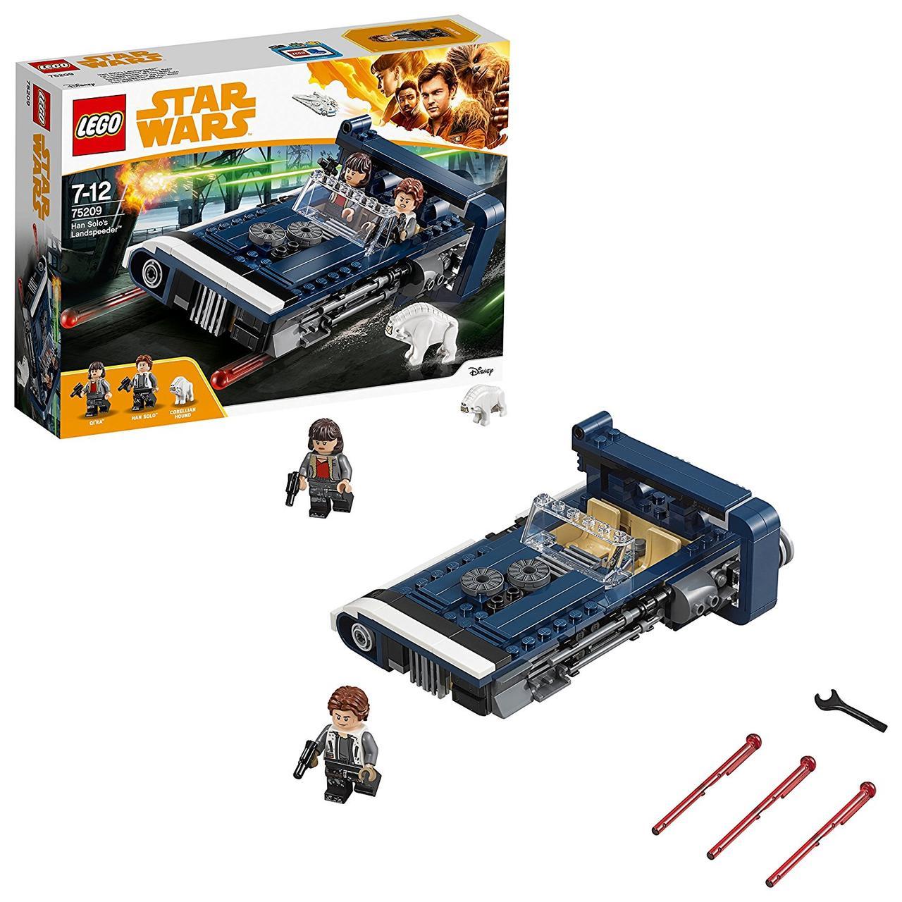 Lego Star wars 75209 Han Solo's Landspeeder. Спідер Хана Cоло (Конструктор Лего Старварс Спидер Хана Cоло)