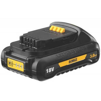 Аккумулятор Li-Ion 18 V 3 А/ч вес 0.5 кг DeWALT DCB187
