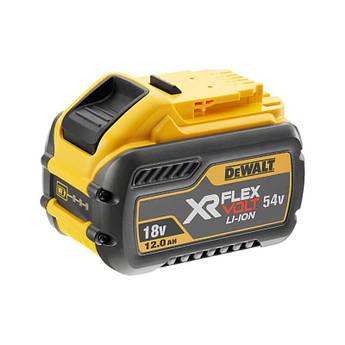 Аккумулятор XR FLEXVOLT Li-lon 12 Ач напряжение 18/54 В вес 1.6 кг DeWALT DCB548