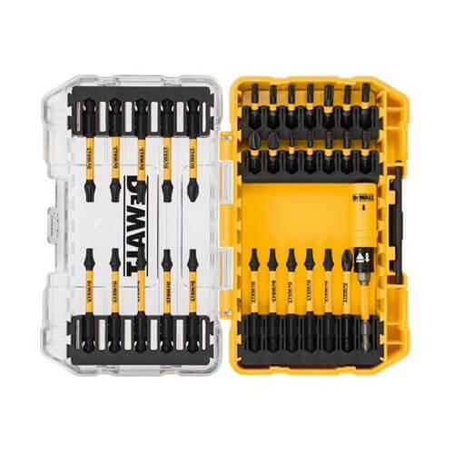 Набор бит EXTREME FlexTorq 31 шт. с магнитным держателем с торсинной зоной в кейсе TOUGH CASE системи TSTAK DeWALT DT70738T