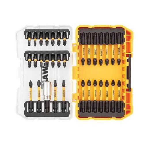 Набор бит EXTREME FlexTorq 34 шт. с алюминиевой магнитной втулкой в кейсе TOUGH CASE системы TSTAK DeWALT DT70746T