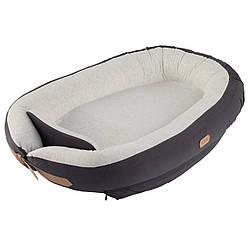 Кокон для сну з обмежувачем Voksi Baby Nest 3271002, серый