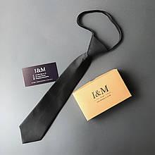 Галстук I&M Craft детский черный (020402)